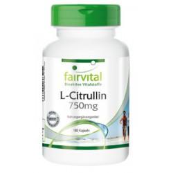L-Citrullin 750 mg, 180 Kapseln