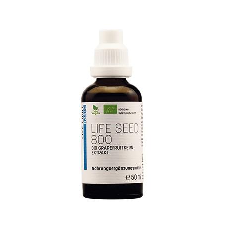 Life Seed 800, Bio-Grapefruitkern Extrakt, 50ml