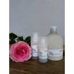 bio.rose Gesichtscreme reichhaltig mit Hyaluron, 30ml